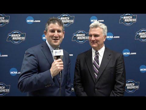 Andy Katz interviews Kansas State head coach Bruce Weber