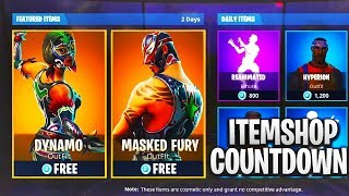NEW Fortnite Item Shop COUNTDOWN! - July 19th Fortnite ITEM SHOP! (LIVE)