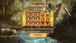 RISE OF MAYA (NETENT) ONLINE SLOT