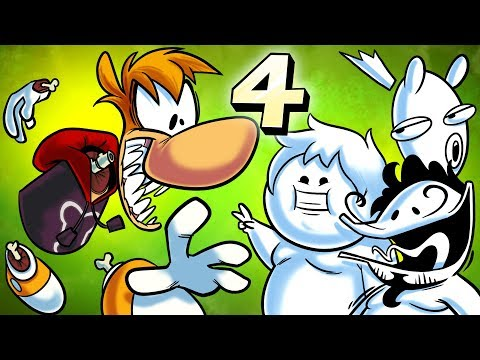 Oney Plays Rayman Origins WITH FRIENDS - EP 4 - Chicken in the Mushroom Kingdom