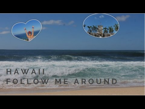 Auslandsjahr 16/17 || USA #21 | Follow me around HAWAII !!
