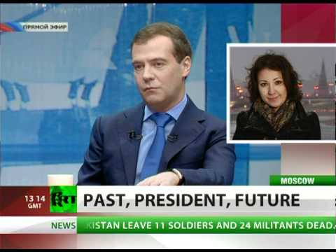 Past, President, Future: Medvedev calls shots, turns tables during 2010 review interview