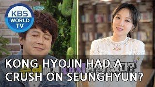 Kong Hyojin had a crush on Seunghyun?! [Happy Together/2018.10.11]