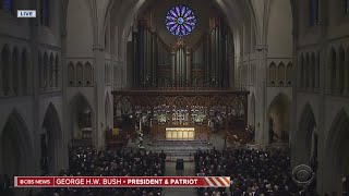 CBS News Special Report: George H.W.  Bush Laid To Rest In Texas