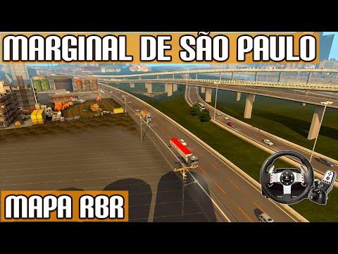 Euro Truck Simulator 2 - Grande Marginal Tiete de São Paulo Mapa RBR