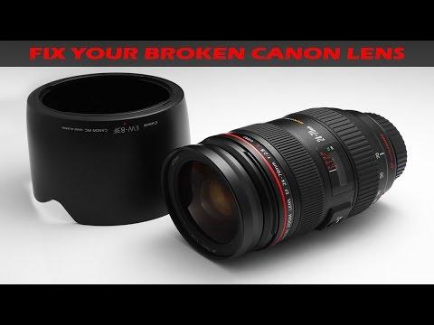 Repair Canon Lens 24-70 F2.8 II