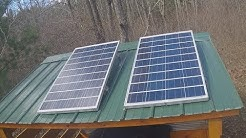 Installing a Basic 12V Solar System in an Off Grid Cabin