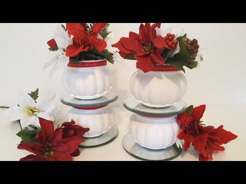 DIY Dollar Tree Crafts | Christmas Centerpiece