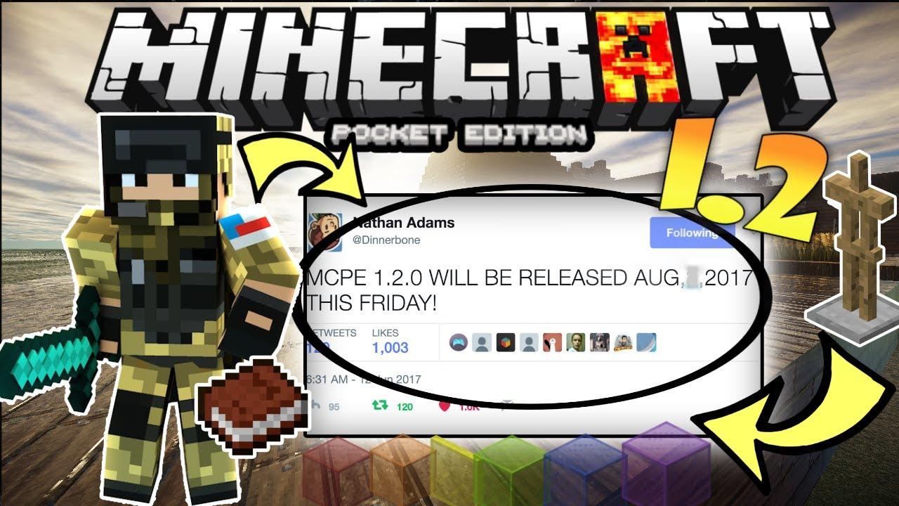 minecraft pe 1.2 update release date