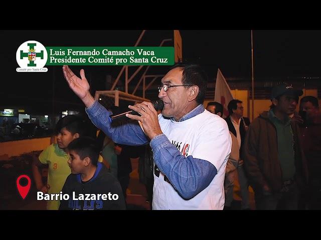 Visita al barrio Lazareto