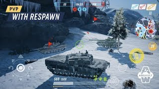 Armored Warfare: Assault Android GamePlay