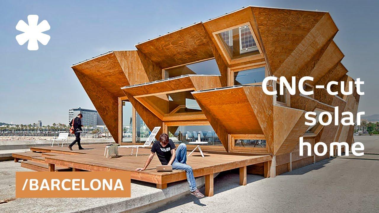Fully-customized, modular solar house is CNC cut prefab