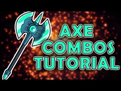 Brawlhalla Axe Combos Guide - Basic combos - Tutorial