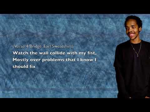 Earl Sweatshirt - Balance (ft. Knxwledge) - Lyrics