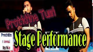 Assamese song by Bikash | zubeen Garg new song | Protidine tumi | Stage performance| Bikash kaita