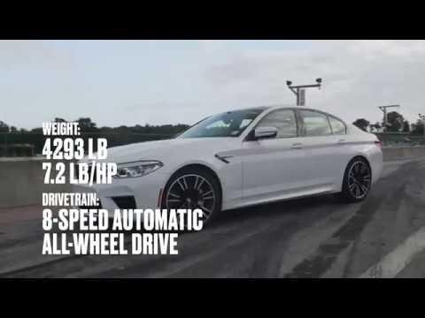 BMW M5 at Lightning Lap 2018