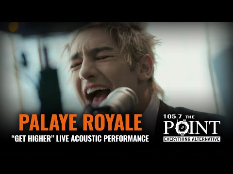 Palaye Royale - Get Higher (LIVE) acoustic performance from THE POINT Studio