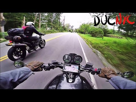 Roads North Of NYC, Ride To Route 6 With DJ Motovlogs And Some Dude On A Yamaha V860
