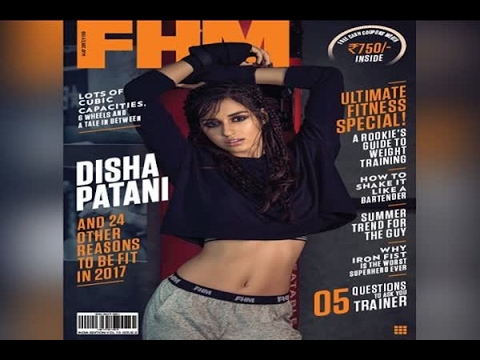 In Graphics: See the latest photo shoot pictures of Disha Patani for FHM