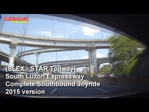 Pinoy Joyride - South Luzon Expressway (Complete Southbound) Joyride