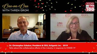 Chris Schaber, Soligenix Inc. – 2020 PharmaVOICE 100 Celebration