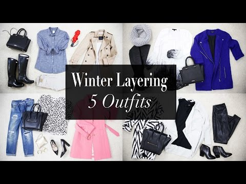 5 Winter Layering Outfit Ideas | ANN LE