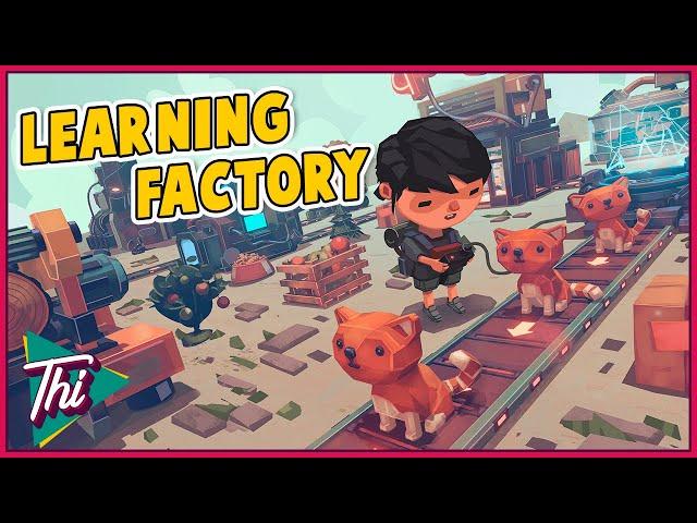 Linhas de Produção + GATOS + Inteligência Artificial = LEARNING FACTORY | Mostrando o jogo