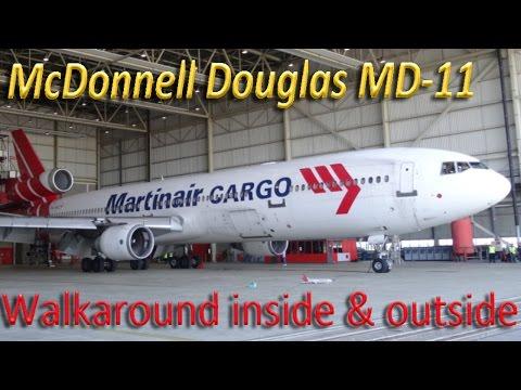 McDonnell Douglas MD-11CF walkaround UNCUT