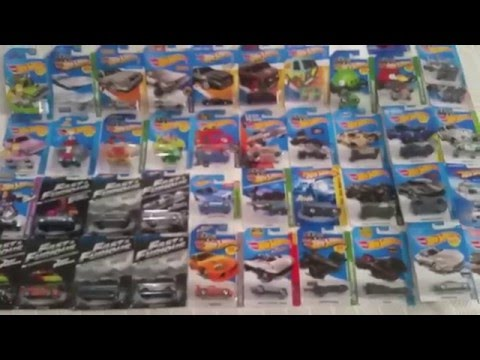 2016 Hot Wheels movie and TV car collection update