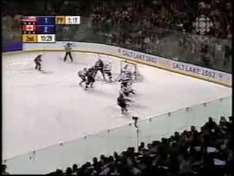 2002 Olympic Hockey CANADA Vs. USA Highlights