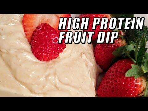 High Protein Fruit Dip Recipe With Kara Corey | Tiger Fitness