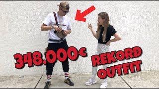 Deutschlands REKORD OUTFIT - 348.000€  😲💸