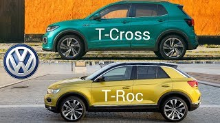 Volkswagen T-Cross vs VW T-Roc