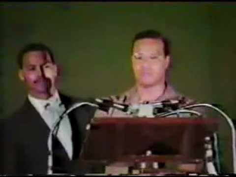 Minister Louis Farrakhan- Speaks to the country of Belize 1986