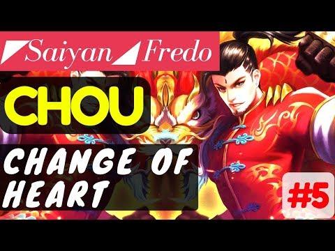 Change of Heart [Saiyan Frędo]   Chou Gameplay and Build By Frędo #5 Mobile Legends