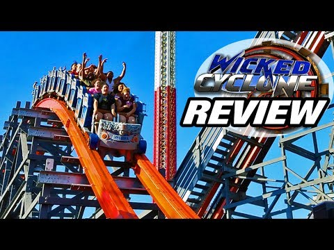 Wicked Cyclone REVIEW ; Six Flags New England