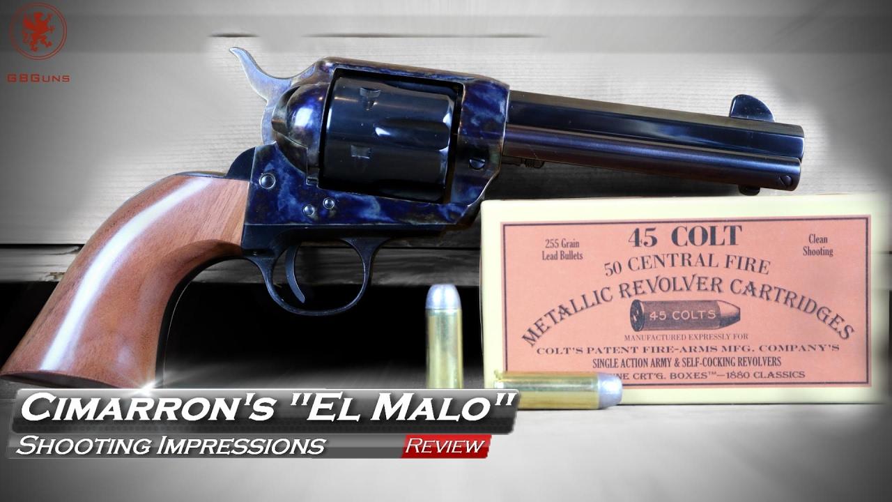 Cimarron's El Malo Shooting Impressions