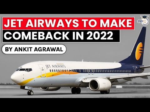 Jet Airways to resume domestic operations in early 2022 - UPSC GS Paper 2 Ministry of Civil Aviation