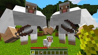 CURSED MINECRAFT BUT IT'S UNLUCKY LUCKY FUNNY MOMENTS