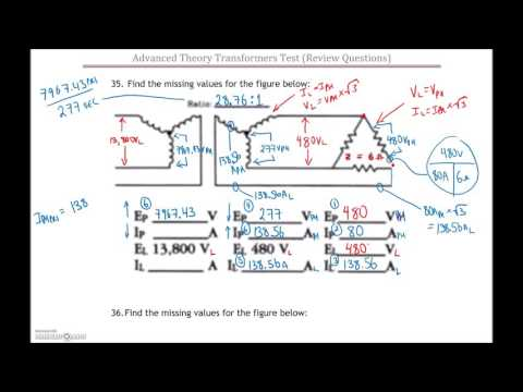3 Phase Transformer Test #2 Review (Part 3)