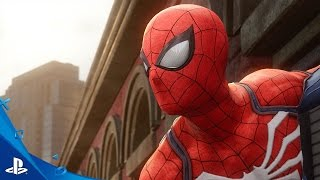 Spider-Man - E3 2016 Trailer | PS4(Here's the E3 2016 trailer for Spider-Man. © 2016 MARVEL © Sony Interactive Entertainment America LLC. Developed by Insomniac Games., 2016-06-14T02:30:27.000Z)