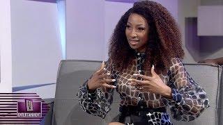 Enhle Mbali on her hair business   V-Entertainment