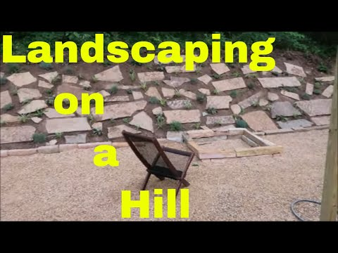 Landscaping on a Hill – Backyard Slope Project