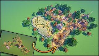 minecraft village transformation villager houses profession