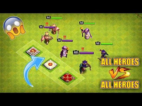 BARBARIAN KING VS ARCHER QUEEN VS BATTLE MACHINE VS GRAND WARDEN||WHO WILL WIN?| TH13 UPDATE COC