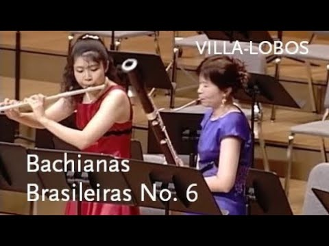 Download Bachianas Brasileiras No. 6 • Villa-Lobos • Tomoko Yamano