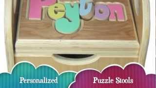 Artistic Sensations Introduces American Made Personalized Puzzle Stools For Christmas