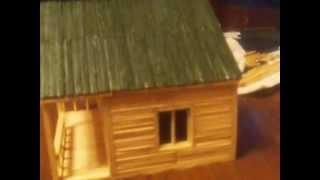 Макет Дома из спичек и зубочисток(, 2012-07-01T07:34:30.000Z)