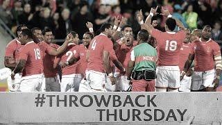 Throwback Thursday: Tonga stun France at RWC 2011