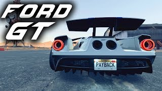 FORD GT BUILD - Need for Speed Payback Gameplay - CRAZY WIDEBODY FORD GT